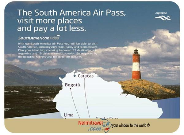 Aerolineas Argentinas,South American Pass,Argentina Pass,South American Travel,South American Airpass,South America pass