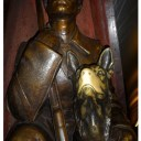 Moscow Metro,Ploshchad Revolutsii station,Lucky dog in Moscow Metro,Good luck believes,Bronze Sculpture,Dog Sculptures