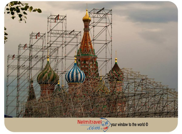 Red Square in Moscow, Closed Red Square in Russia,Red square,Moscow attractions,Tourist attractions Moscow,St.Basil Cathedral