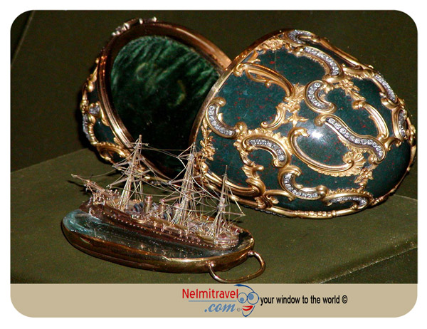 Faberge Eggs;Azov Egg; Faberge Eggs Pictures;Kremlin Armoury Museum;Faberge Eggs Value;Russian Faberge Eggs
