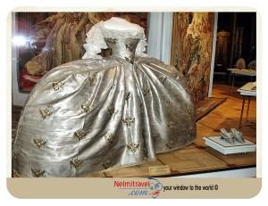 Catherine the Great wedding Dress,Kremlin Armoury Museum in Moscow;Kedieval Costumes Kremlin Armoury Museum