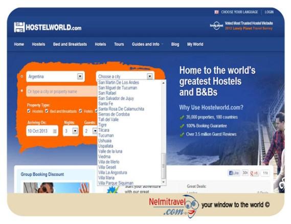 Hostel; Hostelworld; Hostelworld.com; Booking accommodation through Hostelworld; jugendherberge; Book Hostels Online