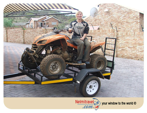atv hitching a ride on a quad in villa gesell in argentina. Black Bedroom Furniture Sets. Home Design Ideas