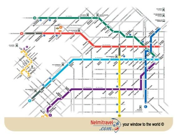 Subte Buenos Aires, Buenos Aires Metro, Subte Buenos Aires Horarios; Subte Map Buenos Aires