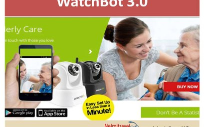 holiday home security cameras, camera for holiday homes,watchbot,;