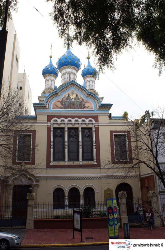 Russian Orthodox Church Buenos Aires,Russian Orthodox Church San Telmo,Church domes in Russian architecture,San Telmo Churches;
