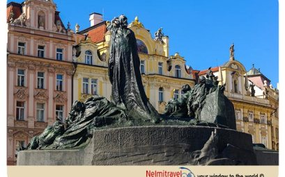 Jan Hus, Reformer Jan Hus, Jan Hus Monument Prague;
