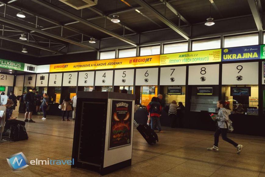 Praha Florenc Bus Station; Florenc Bus Station Prague; Prague Bus Station; Main bus station Prague