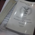UP Visayas Commencement Exercises '09 Program