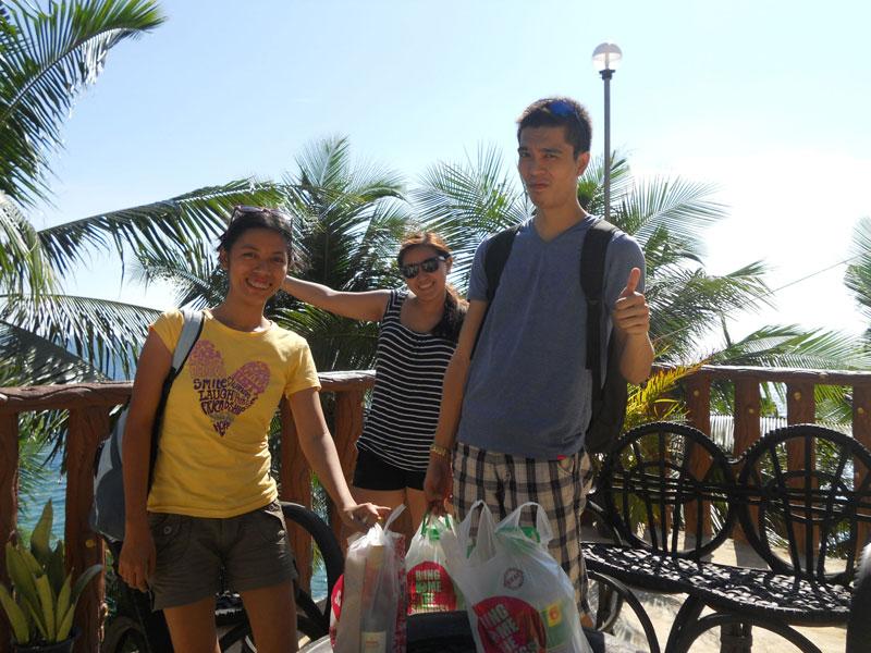 Arriving at Kenyama Beach Resort