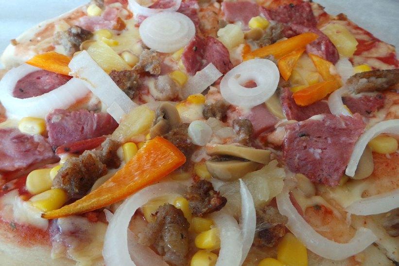Kusina's Special pizza