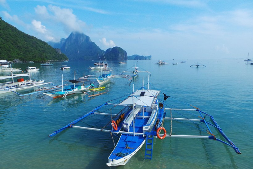 Boats for island hopping