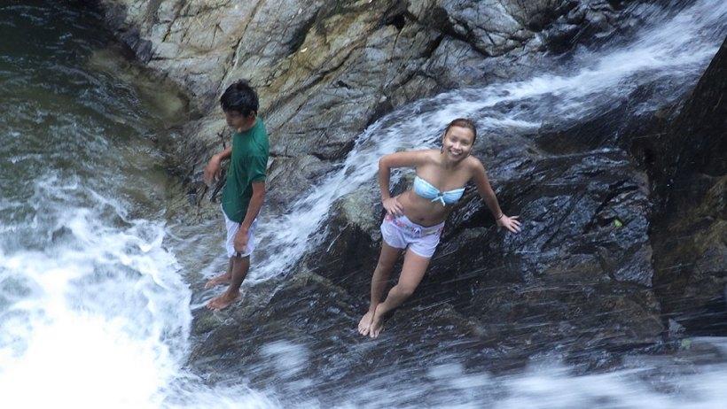 Photo shoot at Nagkalit-kalit Falls