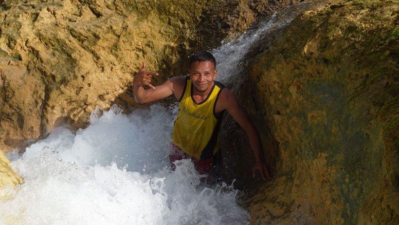 Bao-Bao Falls water slide
