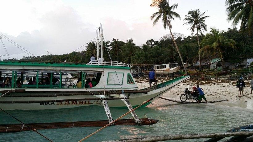 Said Port in Carabao Island