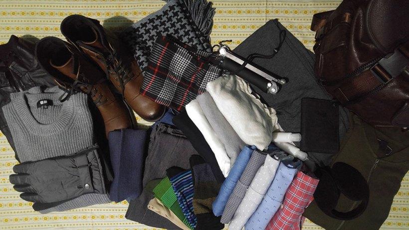 Winter clothes for Korea