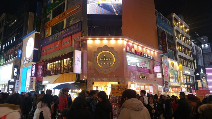 Shopping in Myeongdong