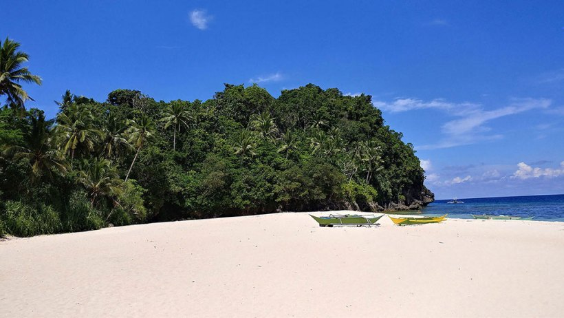 The splendor of Hinugtan Beach