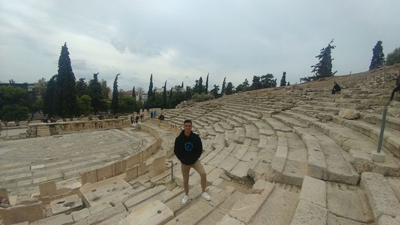 The Theatre of Dionysus in Athens, Greece