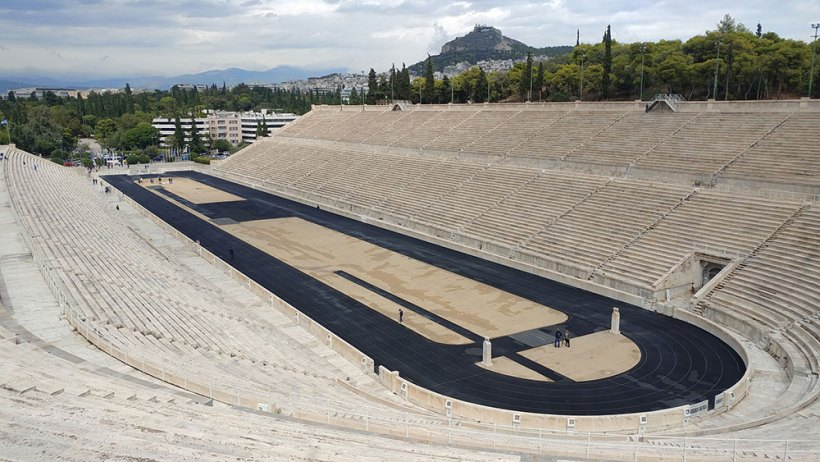 The grandeur of the Panathenaic Stadium