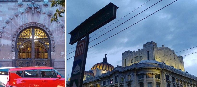Palacio Postal and Palacio de Bellas Artes