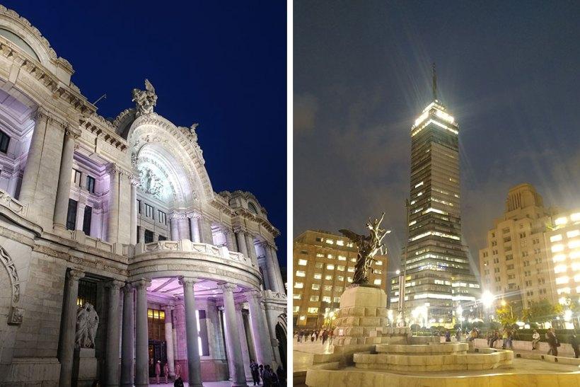 Palacio de Bellas Artes and Torre Latinoamericana
