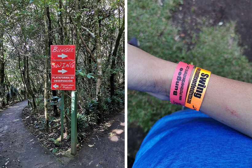Directions and activity wristbands