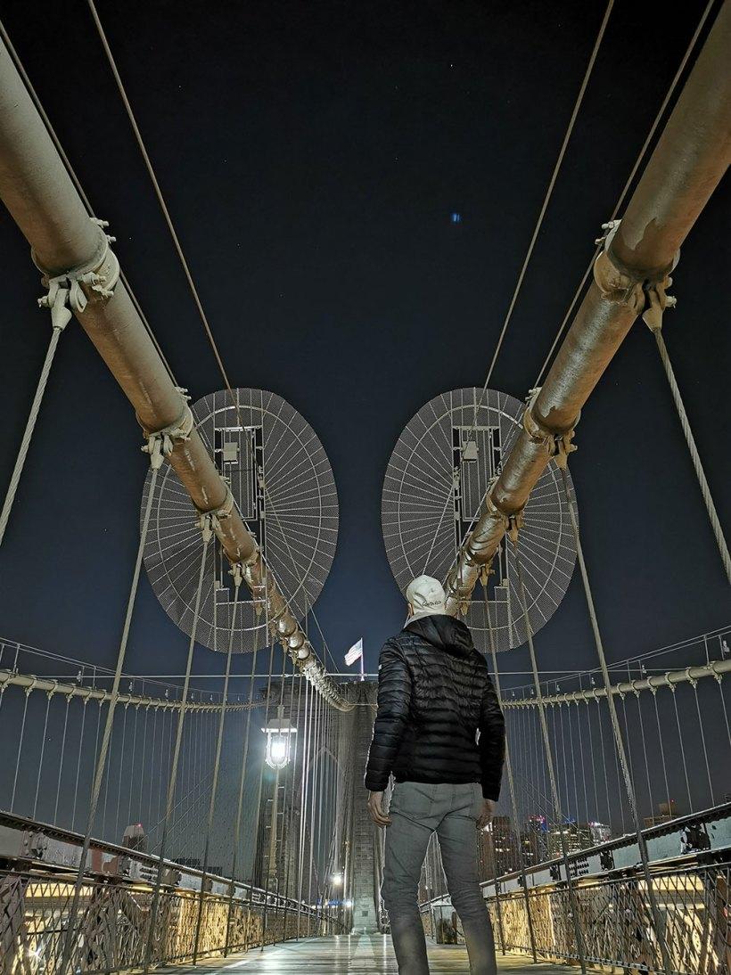 Solo travel: Brooklyn Bridge