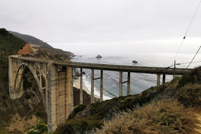 Pacific Coast Highway road trip in one day