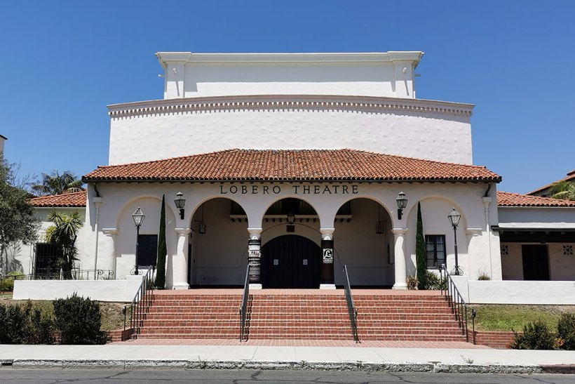 Lobero Theatre in Santa Barbara