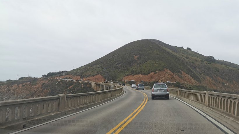 Crossing Bixby Creek Bridge