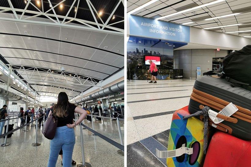 Repatriation to the Philippines: Houston stopover