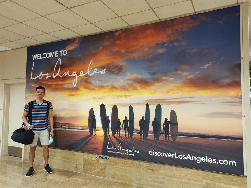 Repatriation to the Philippines: Los Angeles stopover