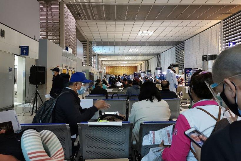 Arrival in Manila