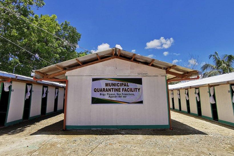 Municipal quarantine facility in Pisaan