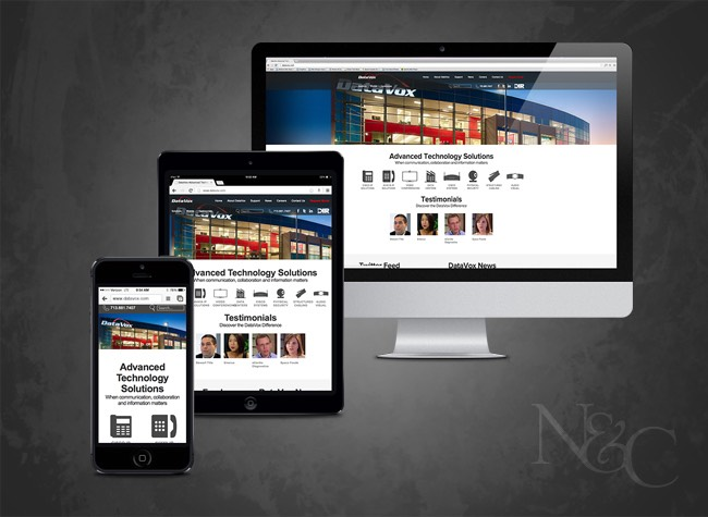 N&C Houston Web Design & Web Development - DataVox