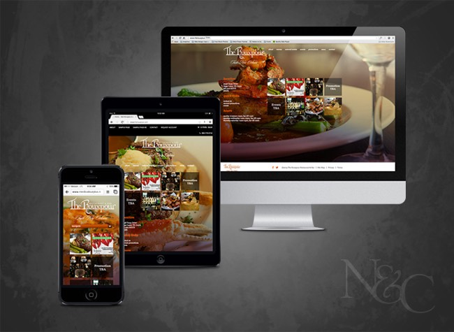 N&C Sugar Land Web Design & Web Development - The Rouxpour