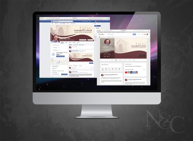 Colony Dental - Dr. Sam Cress Social Pages