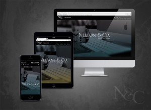 N&C completed their 2015 website design and development. Image shows the site in various responsive views.