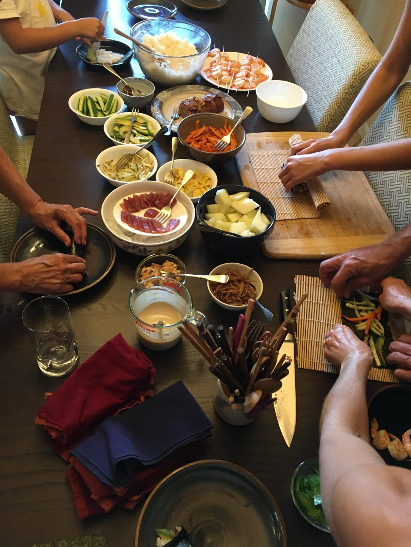 Dinner, July 23
