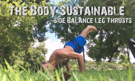 Side Balance Leg Thrusts (Advanced!)