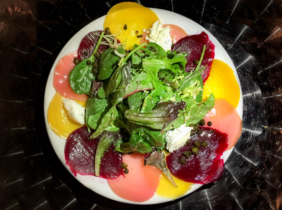 Mixed Beet Carpaccio