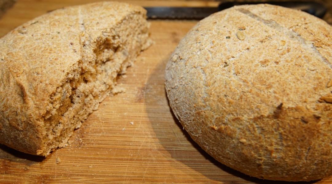 Honey Whole Grain and Rosemary Bread
