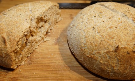 Honey Whole Grain and Rosemary Bread