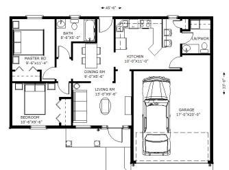 casa metros casas planos cuadrados plano dentro interior dormitorios vuestro todo cocina iglesia espacio