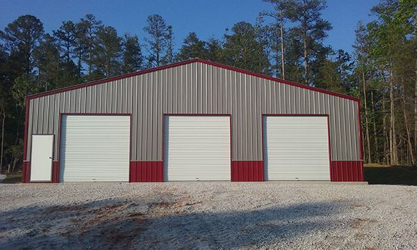 For Sale Commercial Steel Metal Building 50 Foot Wide Gainesville, FL