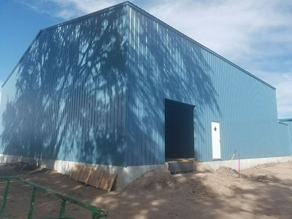 Commercial Steel Metal Warehouse 60x60x20 Gainesville, FL