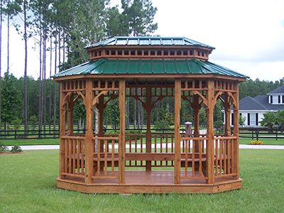 Gazebo For Sale Gainesville, FL Double Roof