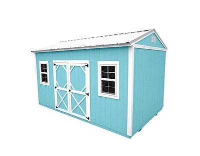 Portable Building Side Garden Shed