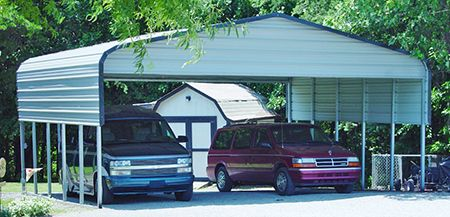Triple Wide Carport Garage Open Gainesville, Florida